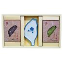 檜木台灣皂+抺草台灣皂+台灣皂盤